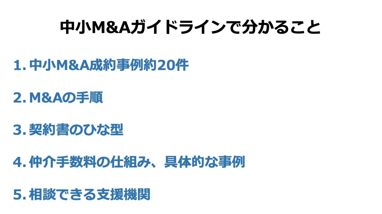 M&A ガイドライン(FV)