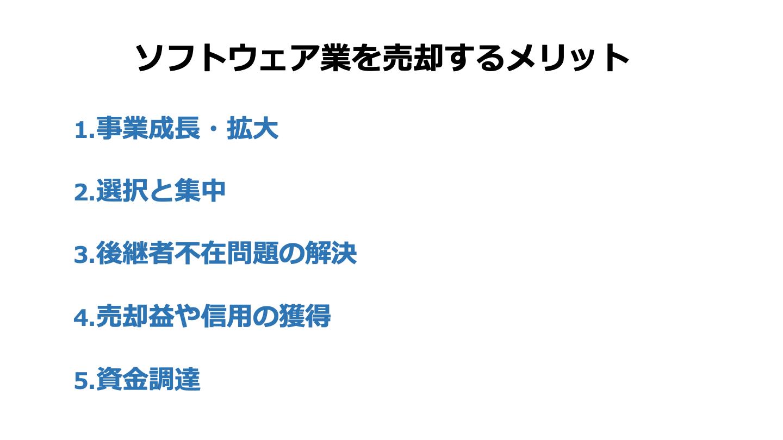 ソフトウェア 売却(FV)