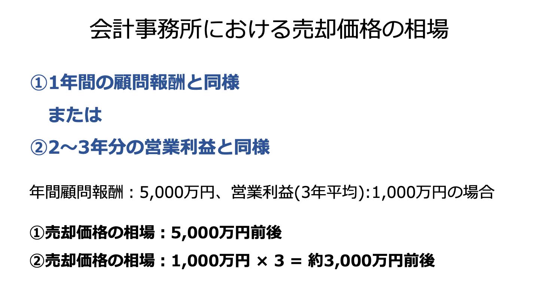 M&A 会計事務所(FV)