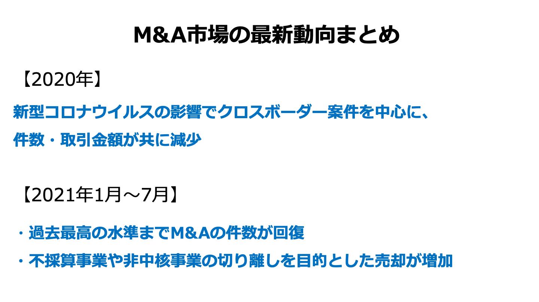 M&A 市場(FV)